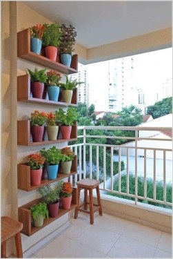 Impressive Fall Apartment Balcony Decorating Ideas To Try34