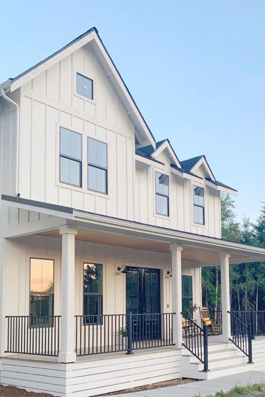 Captivating Farmhouse Exterior House Design Ideas To Copy Right Now 29