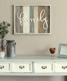 Casual Diy Farmhouse Wall Decorations Ideas On A Budget 07