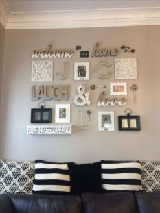 Casual Diy Farmhouse Wall Decorations Ideas On A Budget 33