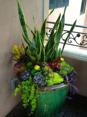 Chic Summer Planter Design Ideas For Summer Outdoor Pool 18