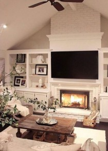 Comfy Farmhouse Living Room Decor Ideas That Make You Feel In Village 32