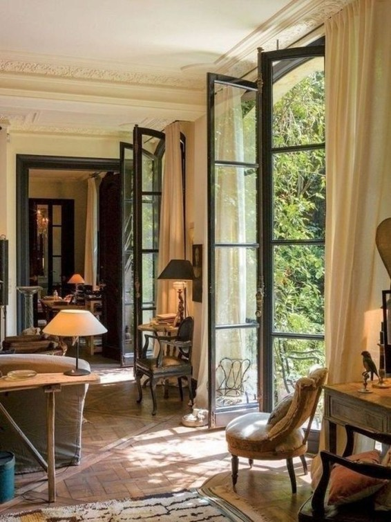 Dreamy French Home Decoration Ideas To Try In Your Home 31