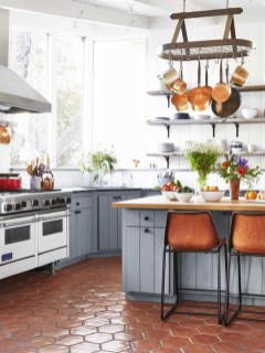 Fascinating Kitchen Design Ideas With Victorian Style 04