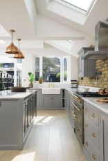Fascinating Kitchen Design Ideas With Victorian Style 15