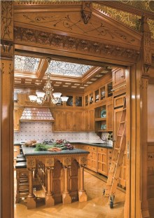 Fascinating Kitchen Design Ideas With Victorian Style 29