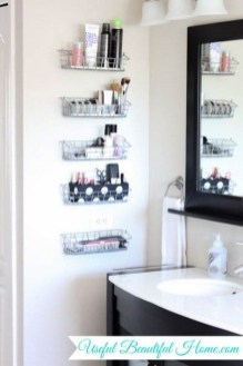 Impressive Bathroom Organization Ideas For Your First Apartment In College 29