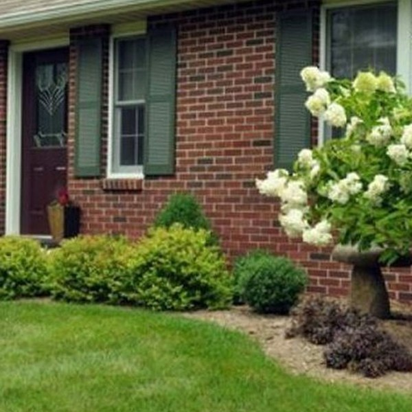 Impressive Summer Planter Design Ideas For Front Yard Decoration 13
