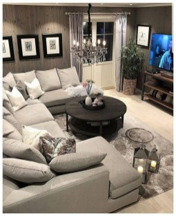 Lovely Living Room Decor Ideas That Cozy And Chic 20
