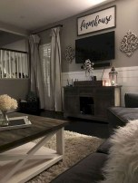 Popular Farmhouse Living Room Makeover Decor Ideas To Have Now 09