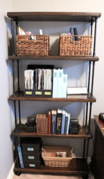 Rustic Diy Industrial Pipe Shelves Design Ideas For You 05