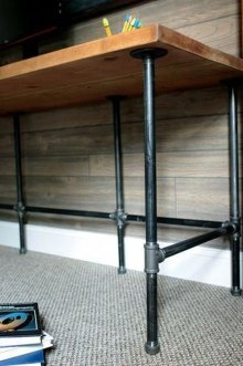 Rustic Diy Industrial Pipe Shelves Design Ideas For You 10
