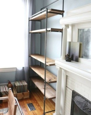 Rustic Diy Industrial Pipe Shelves Design Ideas For You 18