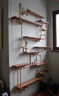Rustic Diy Industrial Pipe Shelves Design Ideas For You 20