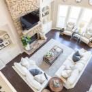 Rustic Farmhouse Furniture Design Ideas For Living Room 36