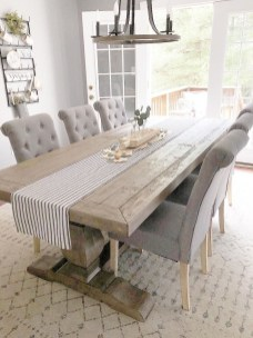 Splendid Dining Room Design Ideas With Farmhouse Table To Have 06