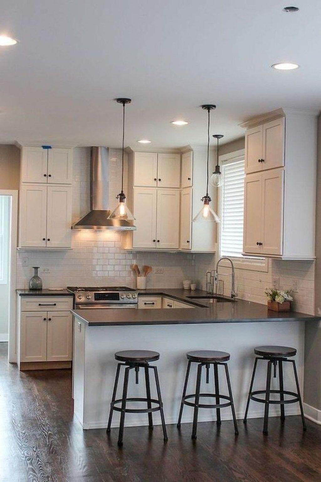 Brilliant Small Kitchen Remodel Design Ideas On A Budget 32