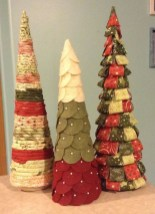 Dreamy Diy Christmas Cone Trees Design Ideas To Try Today 01