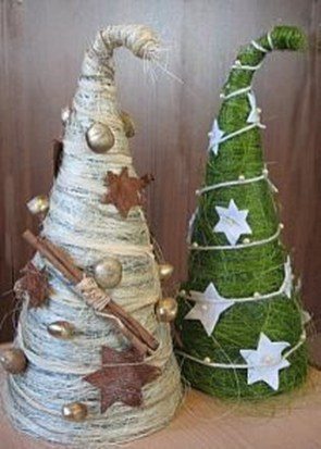 Dreamy Diy Christmas Cone Trees Design Ideas To Try Today 07