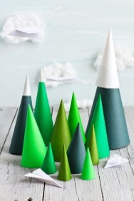 Dreamy Diy Christmas Cone Trees Design Ideas To Try Today 08