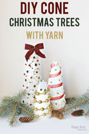 Dreamy Diy Christmas Cone Trees Design Ideas To Try Today 26