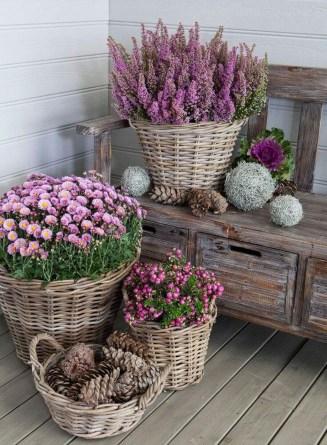Dreamy Front Door Flower Pots Design Ideas To Increase Your Home Beauty 25
