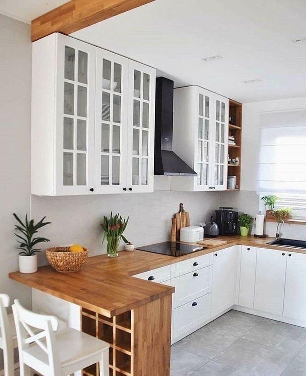 35 Excellent Small Kitchen Decor Ideas On A Budget   DECORKEUN
