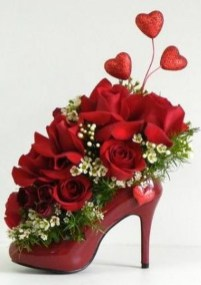 Excellent Valentine Floral Arrangements Ideas For Your Beloved People 19