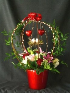 Excellent Valentine Floral Arrangements Ideas For Your Beloved People 33