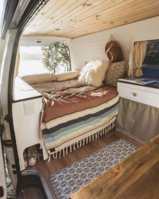 Lovely Caravans Design Ideas For Cozy Camping To Try 34