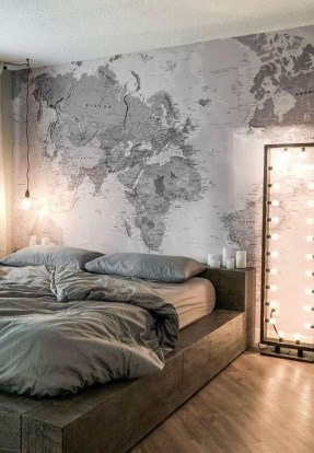 Relaxing Bedroom Wallpaper Decoration Ideas For Comfortable Bedroom 17