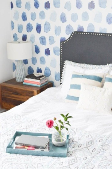 Relaxing Bedroom Wallpaper Decoration Ideas For Comfortable Bedroom 30