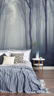 Relaxing Bedroom Wallpaper Decoration Ideas For Comfortable Bedroom 34