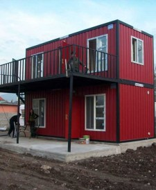 Sophisicated Container House Design Ideas For Comfortable Life 06