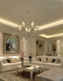 Surprising Living Room Design Ideas With Ceiling Light To Have 05