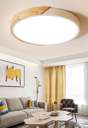 Surprising Living Room Design Ideas With Ceiling Light To Have 35