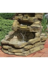 Affordable Small Front Garden Design Ideas With Fountain To Try 30
