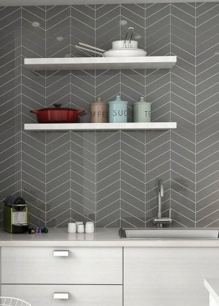Awesome Backsplash Kitchen Wall Ideas That Every People Want It 26