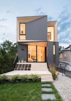 Best Minimalist Home Exterior Architecture Design Ideas To Try Today 26