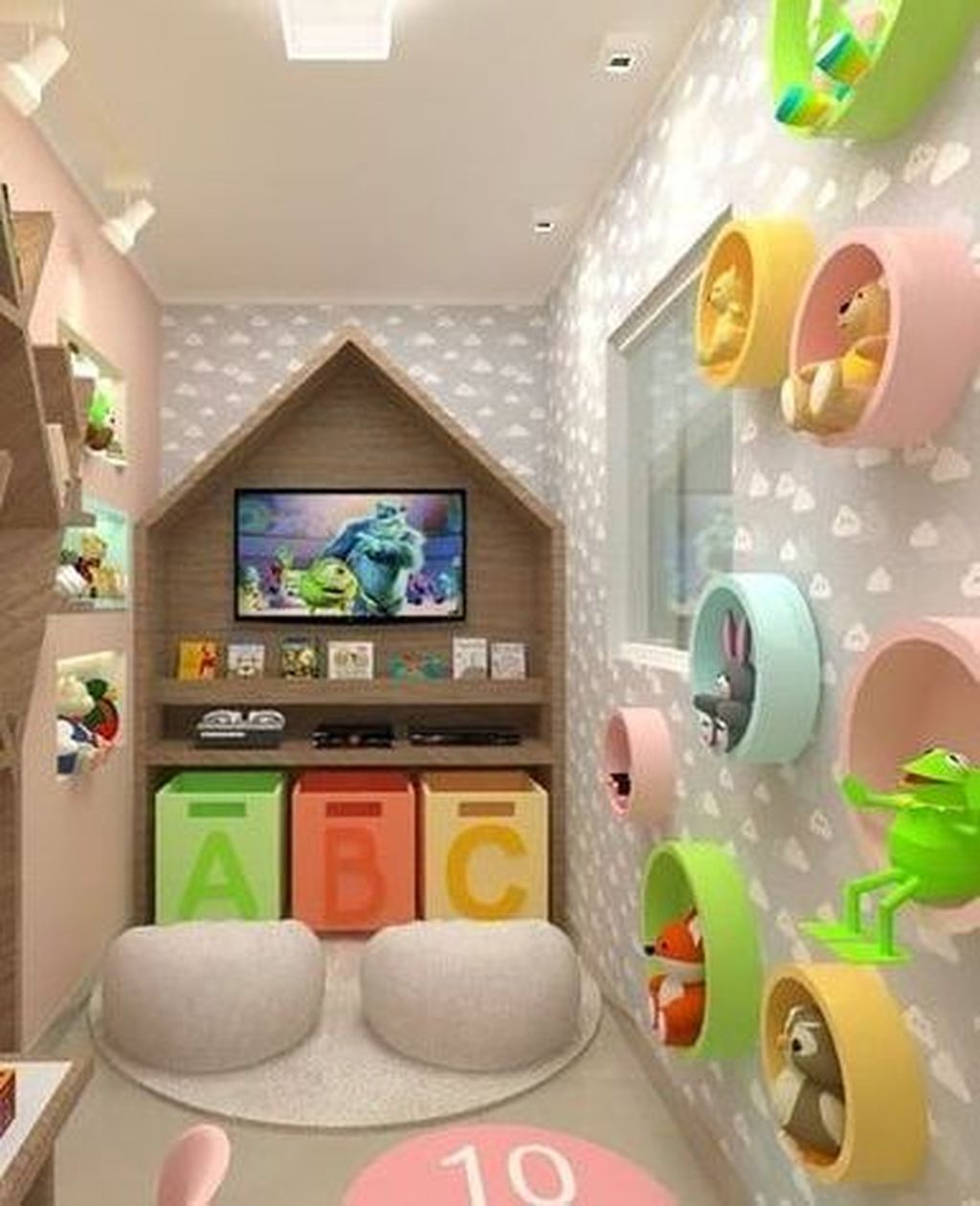 Charming Kids Bedroom Design Ideas For Dream Homes 16