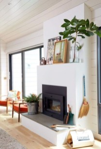 Cool Scandinavian Fireplace Design Ideas To Amaze Your Guests 05