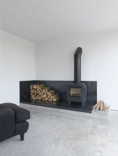 Cool Scandinavian Fireplace Design Ideas To Amaze Your Guests 23