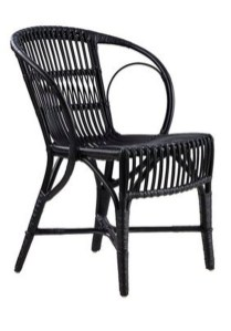 Cute Black Rattan Chairs Designs Ideas To Try This Year 04
