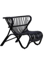 Cute Black Rattan Chairs Designs Ideas To Try This Year 24