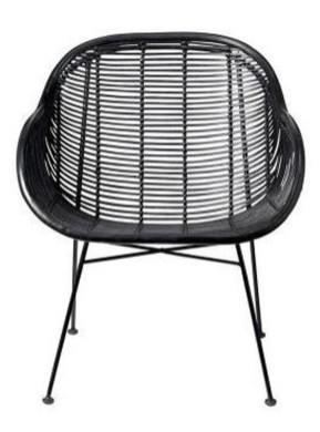 Cute Black Rattan Chairs Designs Ideas To Try This Year 25