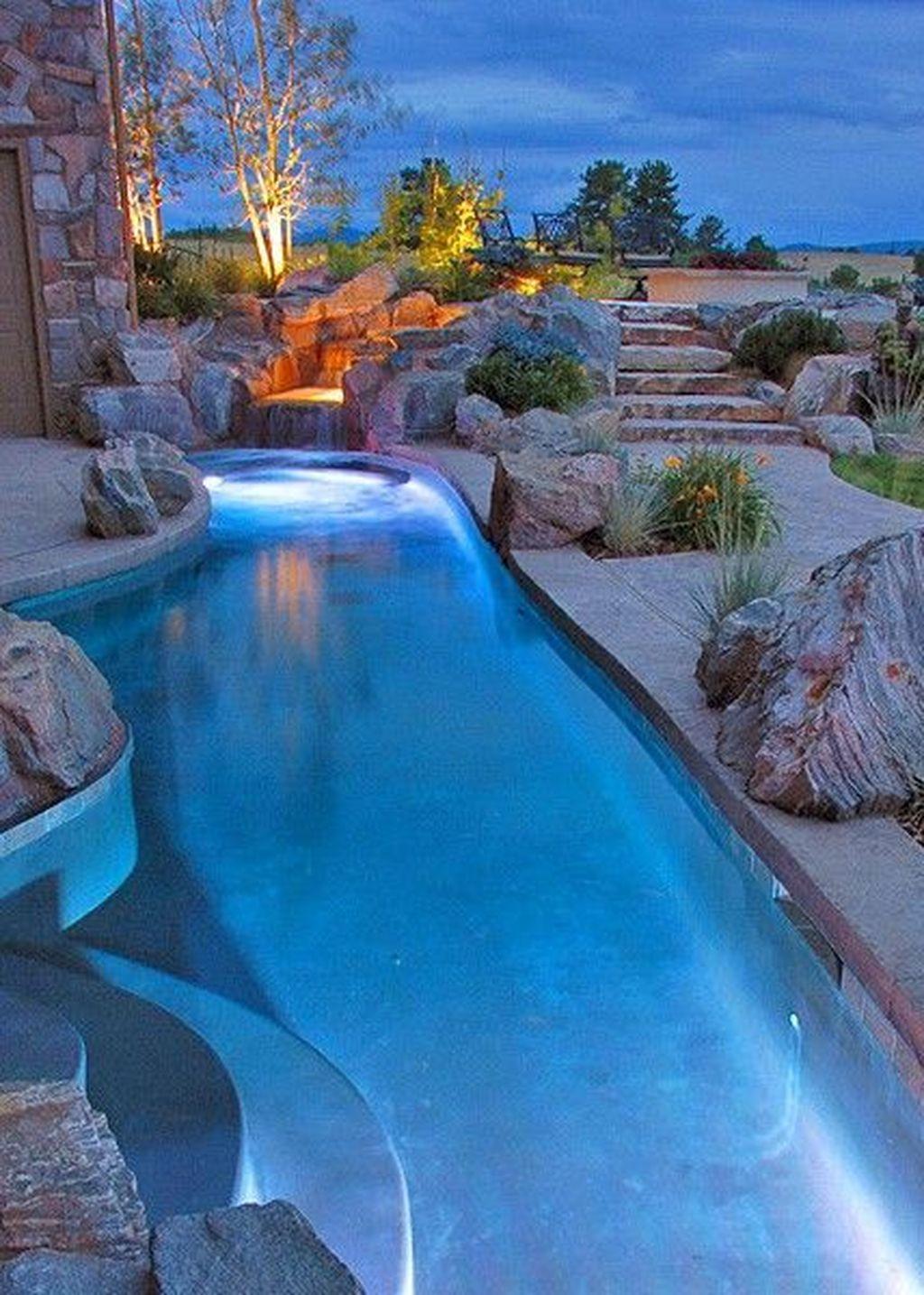 Cute Cabana Swimming Pool Design Ideas That Looks Charming 10