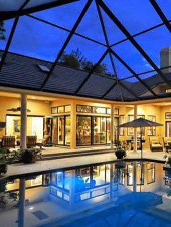 Cute Cabana Swimming Pool Design Ideas That Looks Charming 13