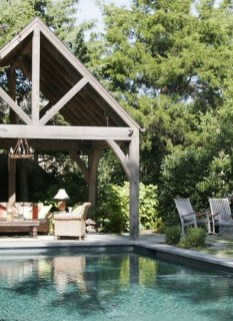 Cute Cabana Swimming Pool Design Ideas That Looks Charming 19