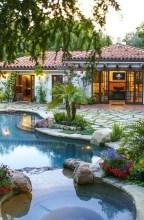 Cute Cabana Swimming Pool Design Ideas That Looks Charming 23