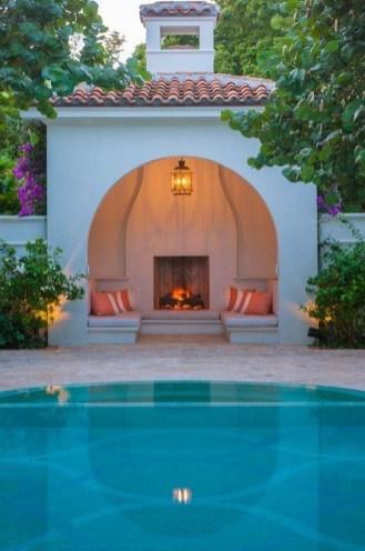 Cute Cabana Swimming Pool Design Ideas That Looks Charming 25